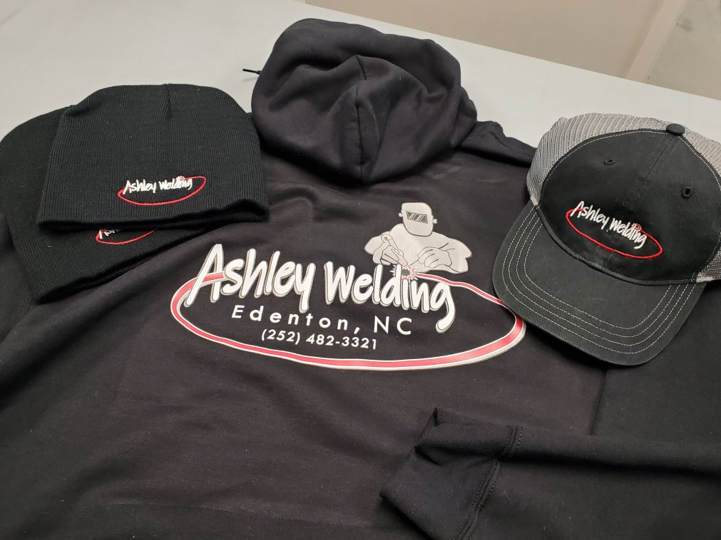 Ashley Welding apparel items