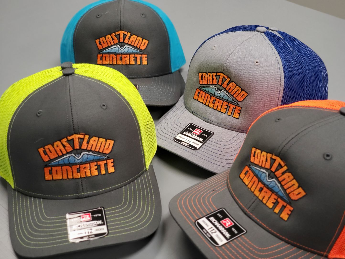 Coastland Concrete Hats